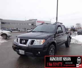 Used 2018 Nissan Frontier Crew Cab PRO-4X 4x4 at DEMO GPS, BACKUP CAMERA BLU for sale in Scarborough, ON