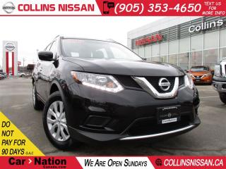 Used 2016 Nissan Rogue S | BACK UP CAMERA | LOW KM'S | LOCAL TRADE for sale in St Catharines, ON