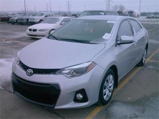 Used 2015 Toyota Corolla S-SPORT-REAR CAMERA-ONLY 62KM for sale in York, ON