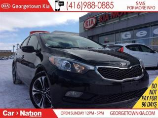 Used 2014 Kia Forte 2.0L SX NAVI| LEATHER| ROOF| HID HEAD LIGHTS for sale in Georgetown, ON