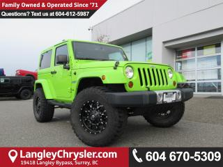 Used 2013 Jeep Wrangler Sahara for sale in Surrey, BC