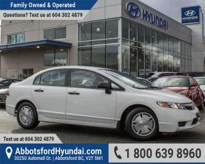 Used 2010 Honda Civic DX-G BC OWNED & LOW KILOMETRES for sale in Abbotsford, BC