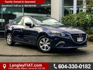 Used 2015 Mazda MAZDA3 GX NO ACCIDENTS, B.C OWNED for sale in Surrey, BC
