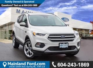 Used 2017 Ford Escape Titanium LOW KMS, ACCIDENT FREE for sale in Surrey, BC