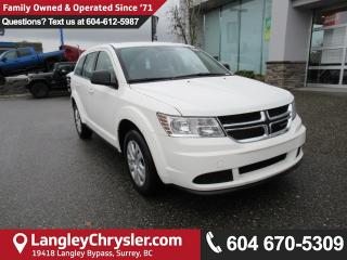 New 2018 Dodge Journey CVP/SE <B>4.3 Touch Screen Display, Dual Zone Temp Cntrl<B> for sale in Surrey, BC