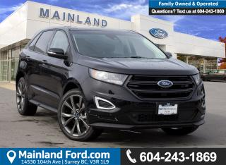 New 2018 Ford Edge SPORT for sale in Surrey, BC