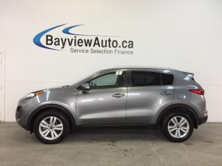 Used 2017 Kia Sportage LX- AWD|ALLOYS|HTD STS|A/C|REV CAM|BLUETOOTH! for sale in Belleville, ON