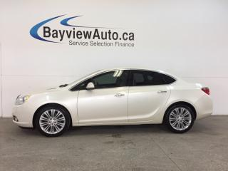 Used 2014 Buick Verano - TINT|REM STRT|DUAL CLIMATE|REV CAM|INTELLILINK! for sale in Belleville, ON