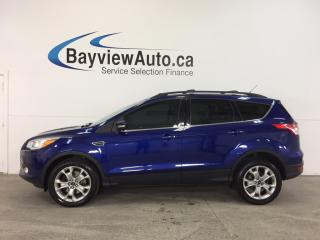 Used 2013 Ford Escape SEL- 4WD|ECOBOOST|REM STRT|HTD LTHR|SONY|SYNC|NAV! for sale in Belleville, ON