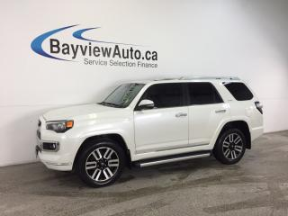 Used 2017 Toyota 4Runner LTD- HITCH|ROOF|HTD/AC LTHR|DUAL CLIMATE|REV CAM! for sale in Belleville, ON