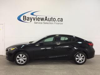 Used 2014 Mazda MAZDA3 GX- SKYACTIV|TINT|PUSH BTN STRT|BLUETOOTH|A/C! for sale in Belleville, ON
