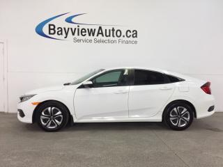 Used 2017 Honda Civic LX- 6 SPEED|TINT|HTD STS|REV CAM|BLUETOOTH|CRUISE! for sale in Belleville, ON