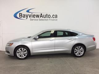 Used 2017 Chevrolet Impala LT- 2.5L|REM START|DUAL CLIMATE|MY LINK|REV CAM! for sale in Belleville, ON