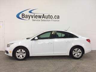 Used 2016 Chevrolet Cruze LTD- TURBO|REM STRT|REV CAM|CRUISE|MY LINK! for sale in Belleville, ON