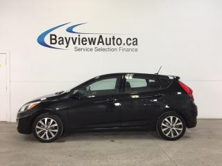 Used 2017 Hyundai Accent SE- 1.6L|ALLOYS|HTD STS|BLUETOOTH|CRUISE! for sale in Belleville, ON
