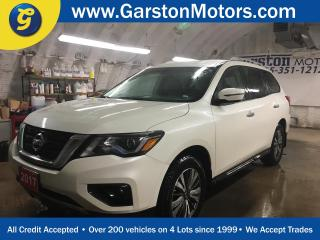 Used 2017 Nissan Pathfinder SV*4WD*BACK UP CAMERA*HEATED FRONT SEATS*POWER DRIVER SEAT*PHONE CONNECT*HEATED STEERING WHEEL*TRI ZONE CLIMATE CONTROL w/REAR AIR CONTROL*KEYLESS ENT for sale in Cambridge, ON