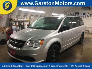Used 2012 Dodge Grand Caravan SXT*BACK UP CAMERA*REAR DVD PLAYER*DUAL ROW STOW N GO*POWER 3RD ROW VENTILATING WINDOWS/POWER MID ROW WINDOWS*U CONNECT PHONE*TRI ZONE CLIMATE CONTROL for sale in Cambridge, ON