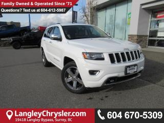 Used 2014 Jeep Grand Cherokee Overland <b>*ACCIDENT FREE*LOW KMS*LOADED*<b> for sale in Surrey, BC