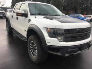 Used 2014 Ford F-150 SVT Raptor NO ACCIDENT - LOCAL - DEALER SERVICED for sale in Surrey, BC
