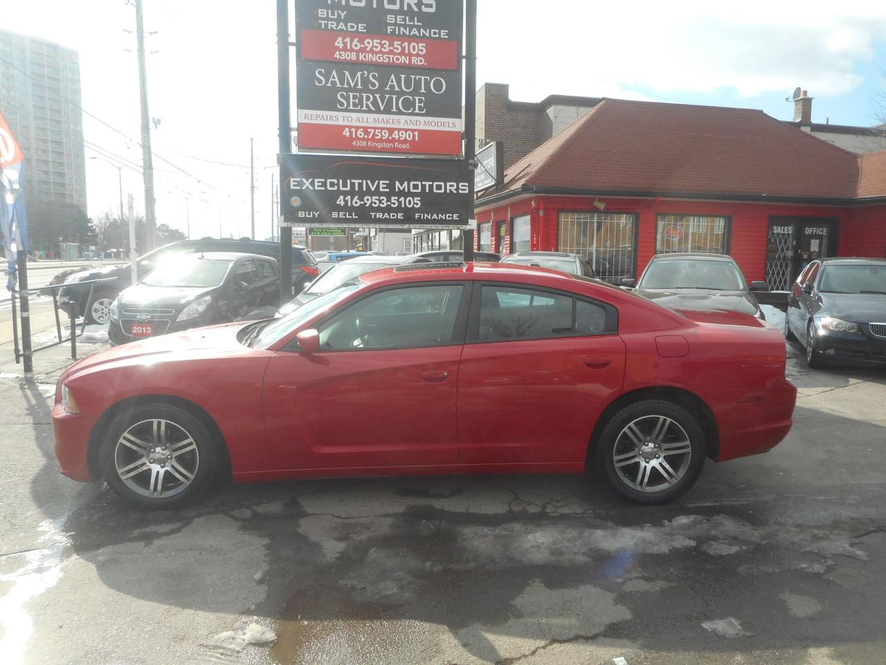 2012 Dodge Charger SXT loaded