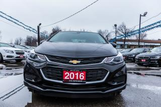Used 2016 Chevrolet Cruze LT/REMOTE START/NO ACCIDENT/BACKUP CAMERA/ALLOYS for sale in Brampton, ON