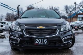 Used 2016 Chevrolet Cruze LT/1 OWNER/NO ACCIDENT/REMOTE START/TOP CONDITION for sale in Brampton, ON