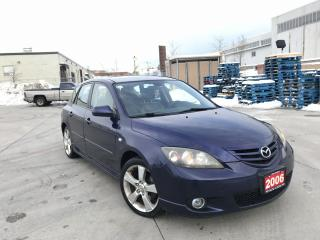 Used 2006 Mazda MAZDA3 Leather sunroof, Automatic, 3/Y warranty availab for sale in North York, ON