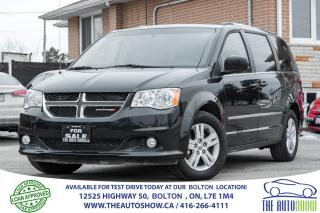 Used 2016 Dodge Grand Caravan Crew Plus NAVI BACK UP CAM DVD for sale in Caledon, ON