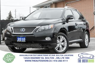 Used 2010 Lexus RX 450h NAVI REAR CAM LEATHER SUNROOF for sale in Caledon, ON
