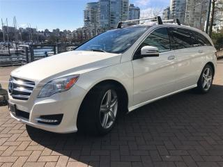 Used 2013 Mercedes-Benz R-Class DIESEL,7 PASS,LOCAL,FULLY LOADED,LOW KLM for sale in Vancouver, BC