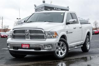 Used 2012 Dodge Ram 1500 Laramie |NAVI|LEATHER|COOLED SEATS|CLEAN CARPROOF| for sale in Mississauga, ON