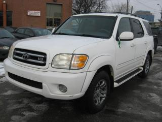 Used 2003 Toyota Sequoia Limited for sale in North York, ON