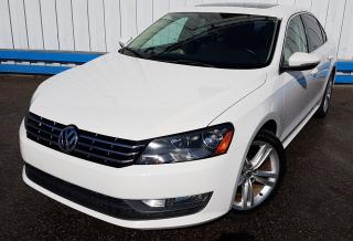 Used 2012 Volkswagen Passat Highline *LEATHER-SUNROOF* for sale in Kitchener, ON