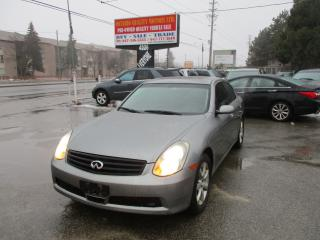 Used 2006 Infiniti G35X for sale in Scarborough, ON