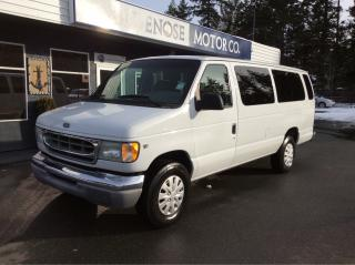 Used 2002 Ford E350 XLT for sale in Parksville, BC