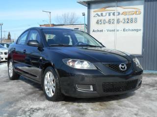 Used 2008 Mazda MAZDA3 MAZDA 3 GX 2008 ***BAS KILOMETRAGE***MAG for sale in Longueuil, QC