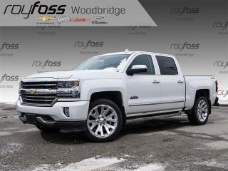Used 2016 Chevrolet Silverado 1500 High Country. Fully Loaded. NAV.ROOF for sale in Woodbridge, ON