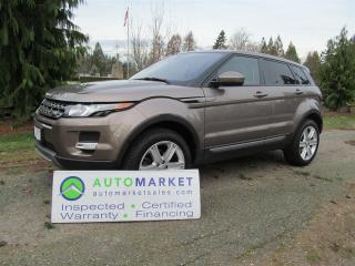 Used 2015 Land Rover Evoque PURE PLUS, AWD, LOADED, WARRANTY for sale in Surrey, BC