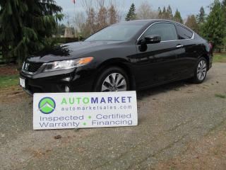 Used 2014 Honda Accord Coupe EX, INSP, WARRANTY, FINANCE for sale in Surrey, BC