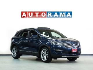 Used 2015 Lincoln MKC NAVIGATION LEATHER PAN SUNROOF 4WD BACKUP CAERA for sale in North York, ON