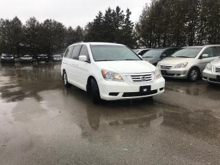 Used 2009 Honda Odyssey EX Plus One Owner Serviced at the Honda Dealer for sale in Waterloo, ON