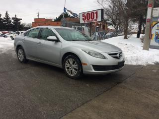 Used 2009 Mazda MAZDA6 4CYL,91000KM,AUTO,SAFETY+3YEARS WARRANTY INCLUDED for sale in North York, ON