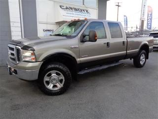 Used 2006 Ford F-350 Lariat 4x4,Crew Long Box, EGR Delete, Diesel for sale in Langley, BC