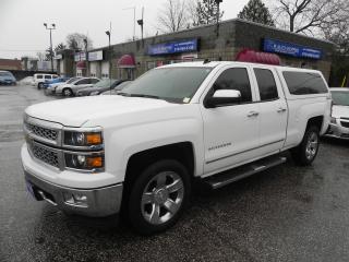 Used 2014 Chevrolet Silverado 1500 LTZ * DBL CAB * CAP * REV CAM * 4 X 4 for sale in Windsor, ON