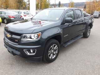 Used 2017 Chevrolet Colorado 4WD Z71 for sale in Quesnal, BC