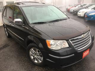 Used 2009 Chrysler Town & Country Limited / Auto / Navi / DVD / Backup Camera / Roof for sale in Scarborough, ON