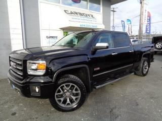 Used 2014 GMC Sierra 1500 SLT All Terrain, Crew 6.5 Box, Nav, DVD, Leather for sale in Langley, BC