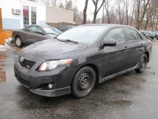 Used 2009 Toyota Corolla XRS for sale in Scarborough, ON