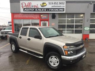 Used 2005 Chevrolet Colorado LS Z71 4X4 LOW KILOMETRES! for sale in London, ON