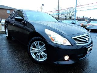 Used 2011 Infiniti G25 LUXURY | LEATHER.ROOF | BACK UP CAMERA for sale in Kitchener, ON